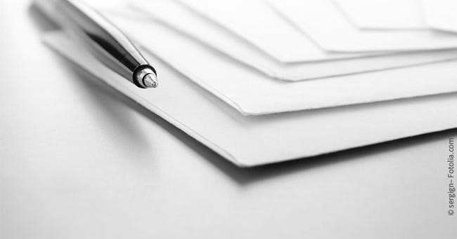 Briefumschlag Beschriften Schriftgröße : Umschlag beschriften und versenden bewerbungsprofi