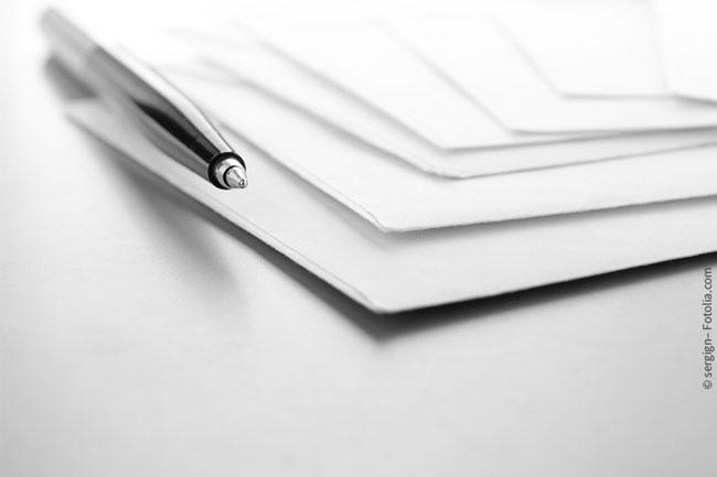 Umschlag Beschriften Und Versenden Bewerbungsprofinet